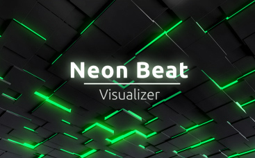 Neon Beat Visualizer