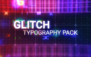 Glitch Typography Pack