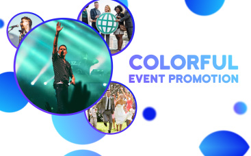 Colorful Event Promotion