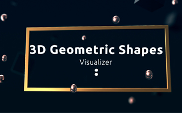 3D Geometric Shapes Visualizer