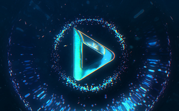 Neon Blaze Logo Animation