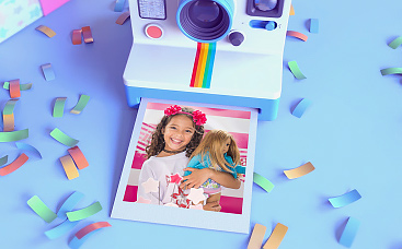 3D Polaroid Birthday Slideshow