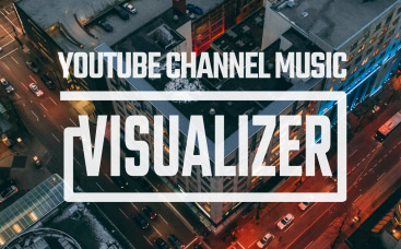 YouTube Channel Music Visualizer