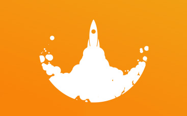 Start Up Rocket Logo