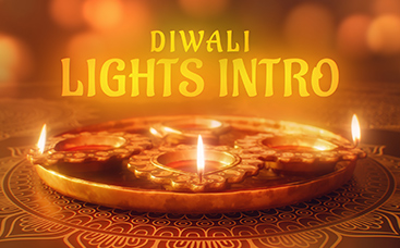 Diwali-Lichter-Intro