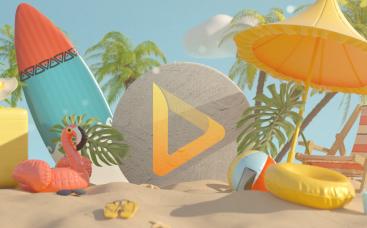 Animation de logo - Vacances d'été