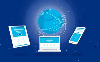 Global Network Logo Reveal