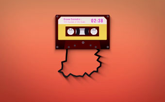Visualizador Musical Casette