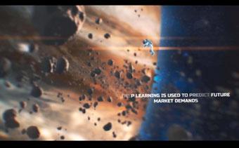 Sci-Fi Weltall-Trailer