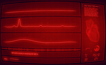 Heartbeat Monitor Music Visualizer