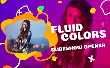 Fluid Colors Slideshow Opener