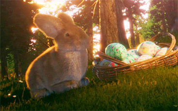 Easter Bunny's Adventures