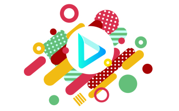 Colorful Shapes Logo Animation