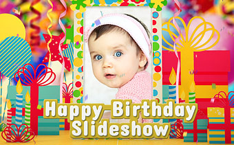 Happy Birthday Slideshow Maker Online