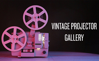 Galeria de Projetor Vintage