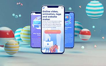 Dynamic Mobile App Promo