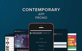 Contemporary App Promo