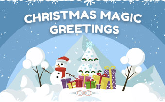 Christmas Magic Greetings