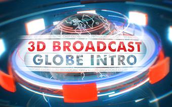 3D Broadcast Globe
