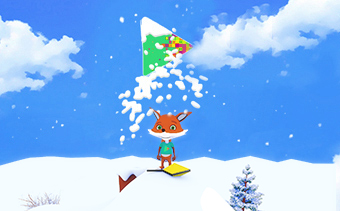Christmas Fox Logo Reveal