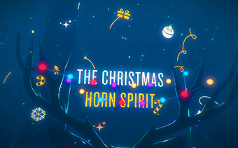 The Christmas Horn Spirit