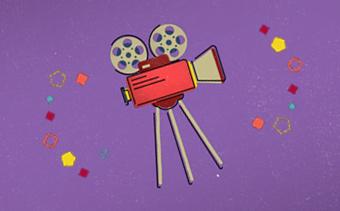 Cinema Theme Logo Reveal