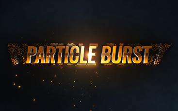 Particle Burst Logo Reveal