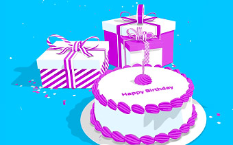 Free online animated greeting cards renderforest happy birthday greeting m4hsunfo