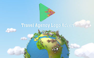 Travel Agency Logo Advert