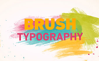 Brush Typography