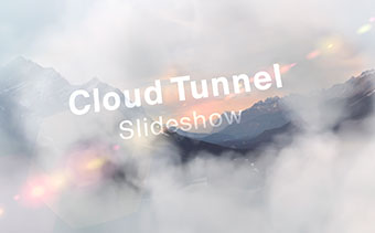 Cloud Tunnel Slideshow