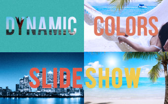 Dynamic Colors Slideshow