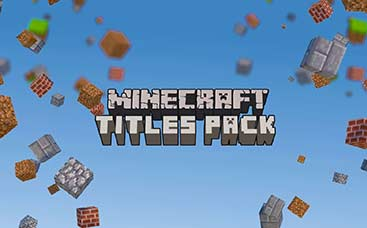 Minecraft Titles Pack