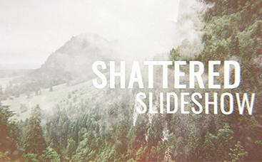 Shattered Slideshow