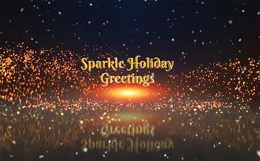 Sparkle Holiday Greetings