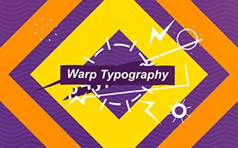 Warp Typography