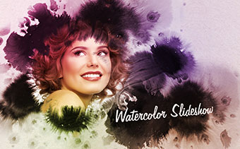 Watercolor Slideshow