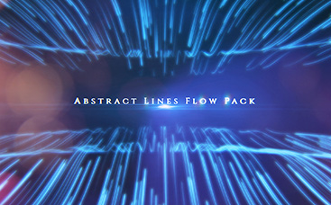 Abstract Lines Flow Pack