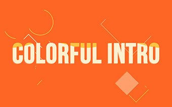 Colorful Typography Promotion