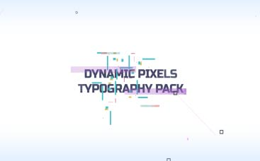 Dynamic Pixels Typography Pack