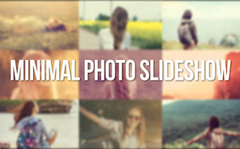 Minimal Photo Slideshow