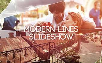 Modern Lines Slideshow