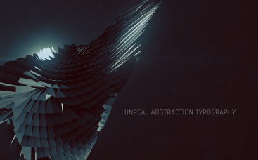 Unreal Abstraction Typography