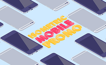 Isometric Mobile App Kit