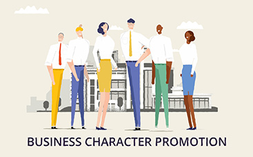 Business Character Promotion