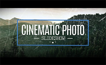 Cinematic Photo Slideshow