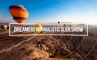 Dreamers Minimalistic Slideshow