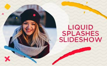 Liquid Splashes Slideshow