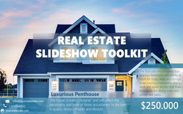 Real Estate Slideshow Toolkit