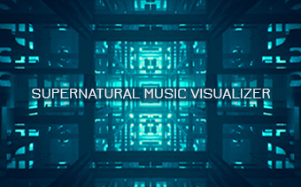 Supernatural Music Visualizer